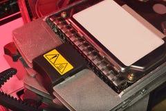 Bâtiment HDD RAID dans le serveur Images stock