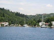 Bâtiment historique de Bosphorus Istanbul Photos libres de droits