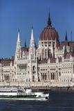 Bâtiment hongrois du Parlement - Budapest - Hongrie Photos libres de droits