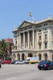 Bâtiment militaire de Barcelone Images stock