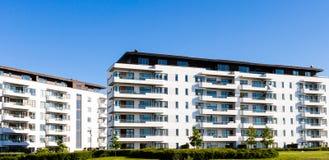 Bâtiment résidentiel moderne Photo stock