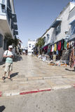 Bâtiment traditionnel à Tunis Photographie stock libre de droits
