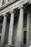 Bâtiments financiers de secteur, New York City Images stock