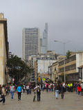 Bâtiments modernes à Bogota, Colombie Photographie stock