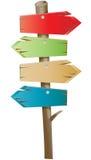 BTN di legno Immagini Stock Libere da Diritti