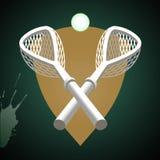 Bâtons de Lacrosse. Photographie stock libre de droits