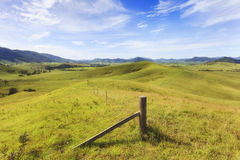 BTops Hill Top Valley Fence stock images