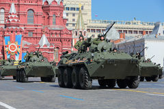 BTR-82A Fotografia Stock Libera da Diritti
