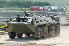 BTR-82A armoured personnel carrier Stock Photos