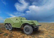 BTR-152 - char d'assaut soviétique Photographie stock