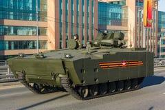 BTR kurganets-25 dell'autoblindo leggero Fotografia Stock Libera da Diritti