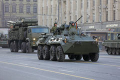 BTR-82 Stock Photo