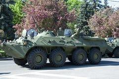 BTR OP PARADE 9 MEI Royalty-vrije Stock Fotografie