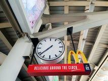 BTS国民时钟体育场驻地的 免版税库存照片