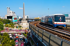 The BTS sky train Royalty Free Stock Image