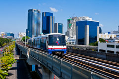 The BTS sky train Stock Photos