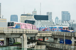 BTS sky train Royalty Free Stock Photos