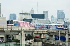 BTS sky train Royalty Free Stock Photos