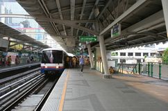 BTS SkyTrain Royalty Free Stock Photo