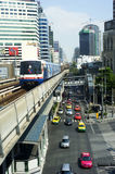 BTS Skytrain Royalty Free Stock Photography