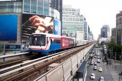 BTS Skytrain Arkivfoto