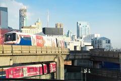 BTS Skytrain Στοκ φωτογραφίες με δικαίωμα ελεύθερης χρήσης