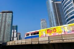 BTS Skytrain in Bangkok Royalty Free Stock Photos