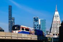 BTS Skytrain in Bangkok Stock Images