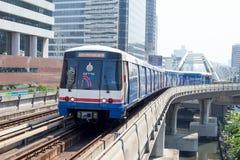 BTS Skytrain in Bangkok, Thailand. Stock Images