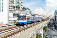 BTS skytrain train Royalty Free Stock Images