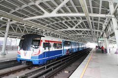 BTS Skytrain stock photo