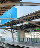 BTS station in Bangkok. Indoor view Royalty Free Stock Images