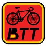 BTT icon. Creative design of BTT icon Stock Image
