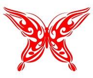 Bttb vermelho tribal imagens de stock