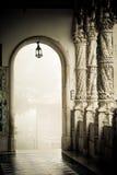 Buçaco Columns Royalty Free Stock Image