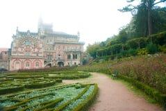 Buçaco Palace garden Royalty Free Stock Image