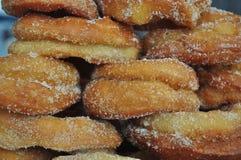 Buñuelo frito hecho en casa Foto de archivo libre de regalías