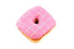 Buñuelo rosado Fotografía de archivo libre de regalías