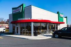 Buñuelos de Krispy Kreme Foto de archivo