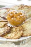 Buñuelos de la patata Imagenes de archivo