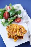 Buñuelos de maíz fritos fotos de archivo libres de regalías