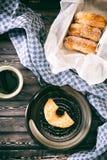 Buñuelos del azúcar Fotografía de archivo