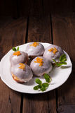 Buñuelos dulces Imagen de archivo