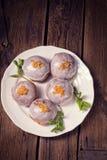 Buñuelos dulces Imagen de archivo libre de regalías