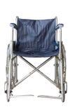 Buła koła krzesło na białym tle Fotografia Royalty Free