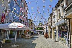 Bułgaria, Plovdiv, śródmieście obrazy royalty free