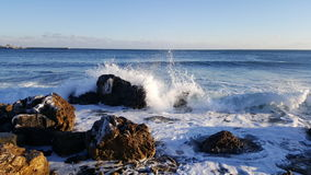 Bułgaria - Pogodna plaża Fotografia Stock