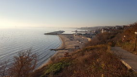 Bułgaria - Pogodna plaża Fotografia Royalty Free