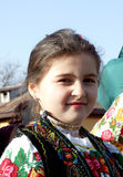 Bułgarska dziewczyna Zdjęcia Stock