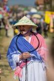 Bułgarski folkloru i maskarady festiwal Varvara zdjęcia stock